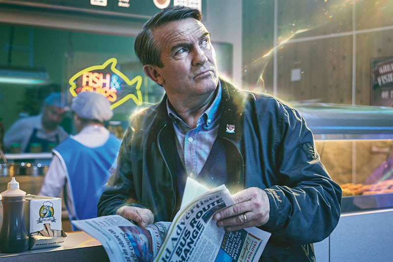 Bradley Walsh as Graham in Doctor Who (BBC, HF)