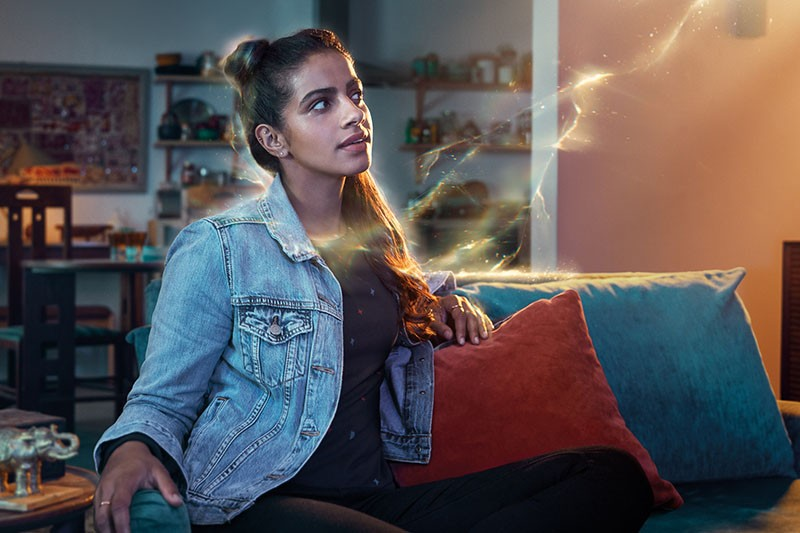 Mandip Gill as Yasmin in Doctor Who series 11 (BBC, HF)