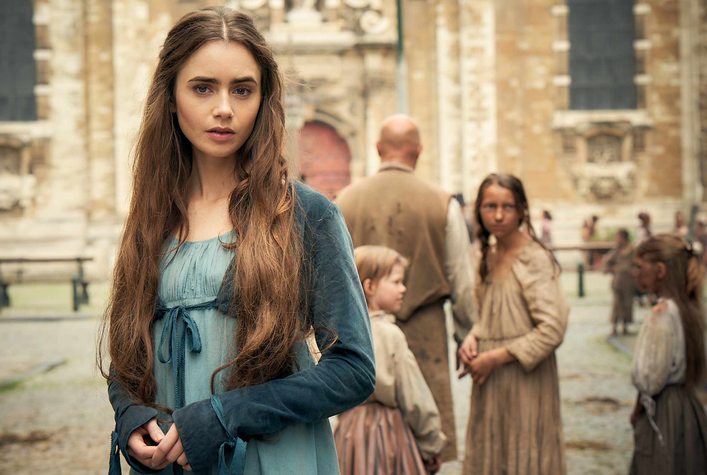 Lily Collins, Les Miserables (BBC, EH)