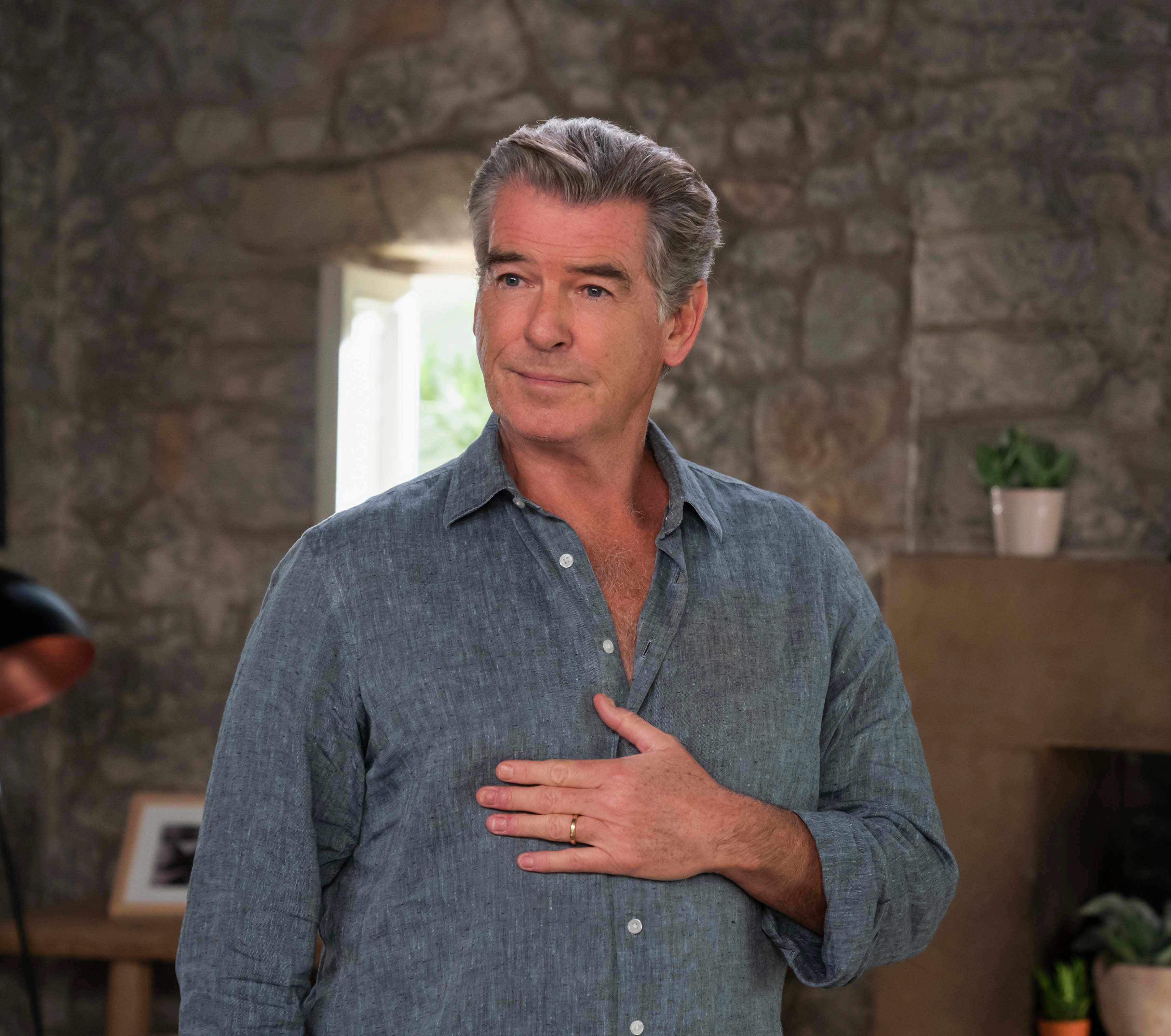 Pierce Brosnan, Mamma Mia! Here We Go Again (Universal, EH)