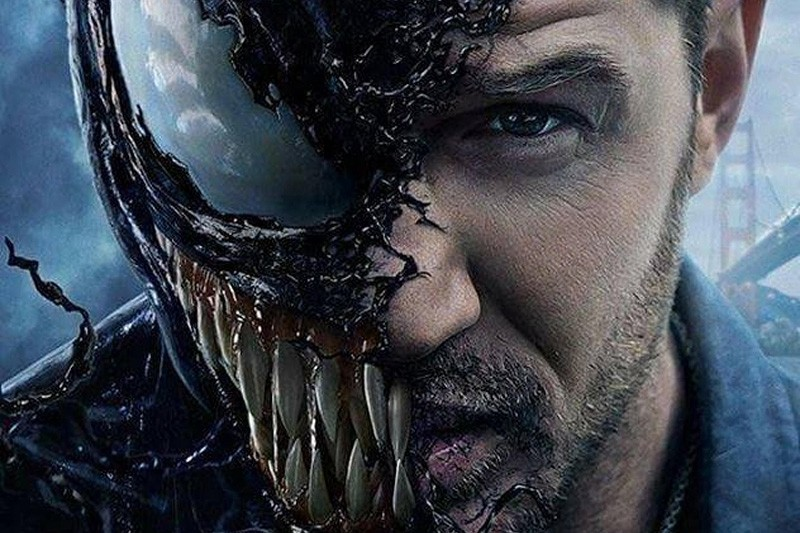 Tom Hardy as Eddie Brock/Venom (Sony, HF)