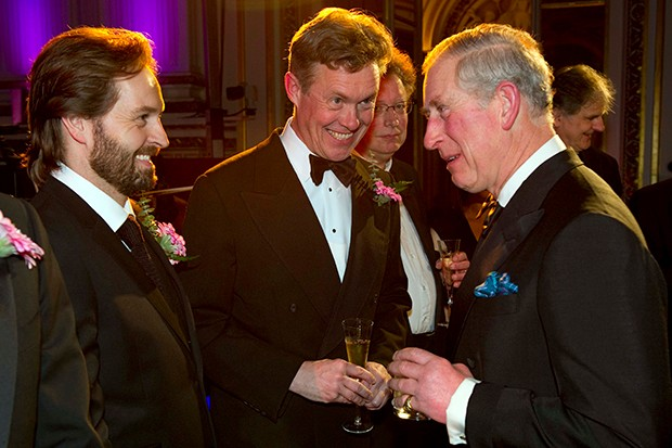 Alex Jennings and Prince Charles