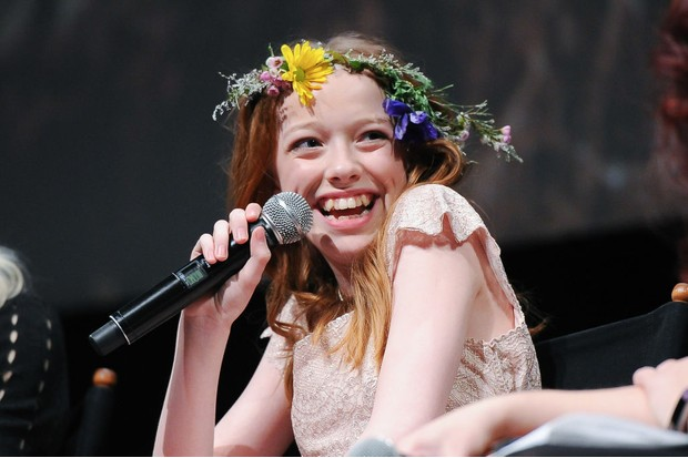 Amybeth McNulty, star of Anne with an E