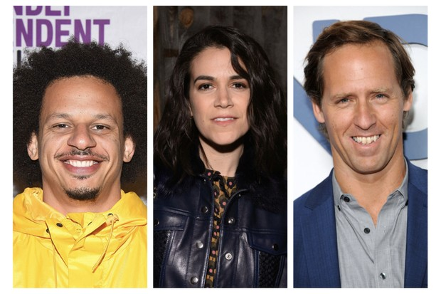 Eric Andre, Abbi Jacobson and Nat Faxon