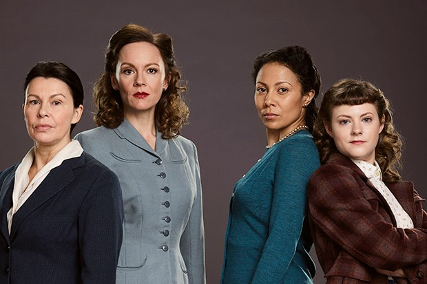 The cast of The Bletchley Circle: San Francisco