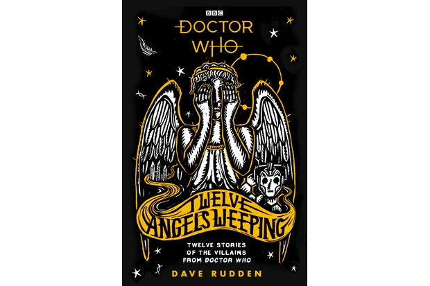 The hardback cover for Dave Rudden's Twelve Angels Weeping (BBC Books, HF)