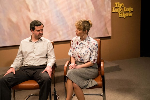 Daniel Mays and Anna Maxwell Martin as Colin and Wendy Parry in Mother's Day
