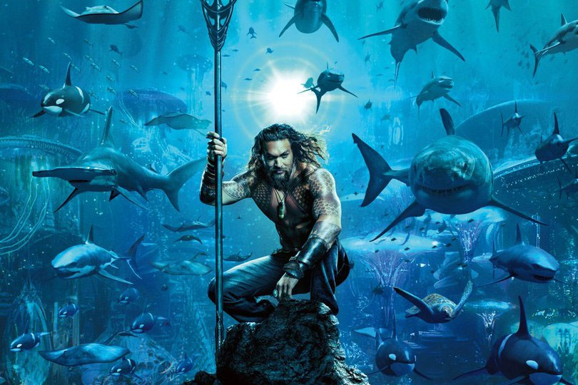 Jason Momoa in Aquaman (Warner Bros, HF)