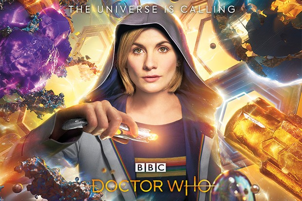 Jodie Whittaker in a Doctor Who series 11 poster (BBC, HF)