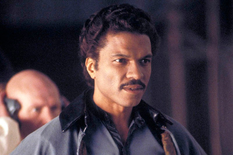 Billy Dee Williams as Lando Calrissian in Star Wars Episode V: The Empire Strikes Back (Sky, LucasFilm, HF)
