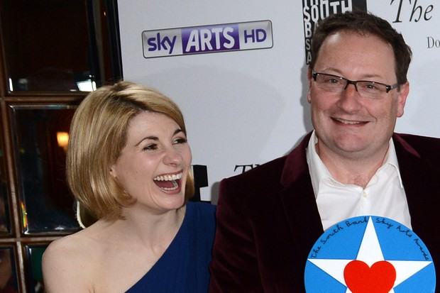 Jodie Whittaker and Chris Chibnall together in 2014 (Getty, HF)