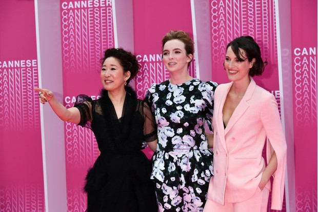 Sandra Oh, Jodie Comer and Phoebe Waller-Bridge