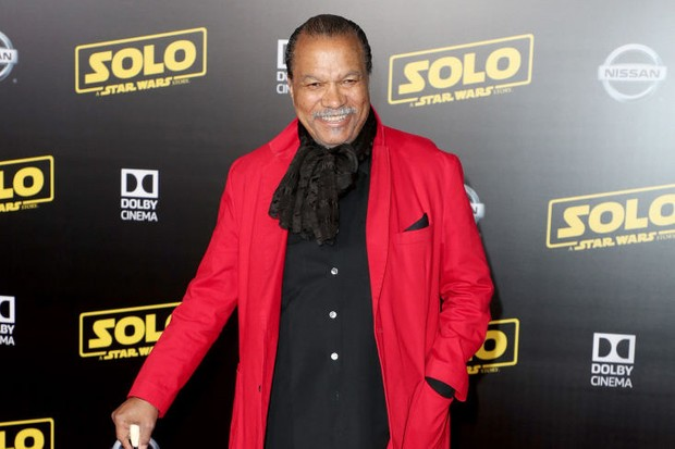 Billy Dee Williams attends the premiere of Solo: A Star Wars Story (Getty, HF)