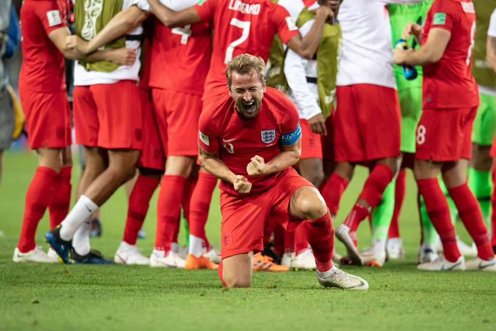 England Harry Kane win Colombia World Cup 2018