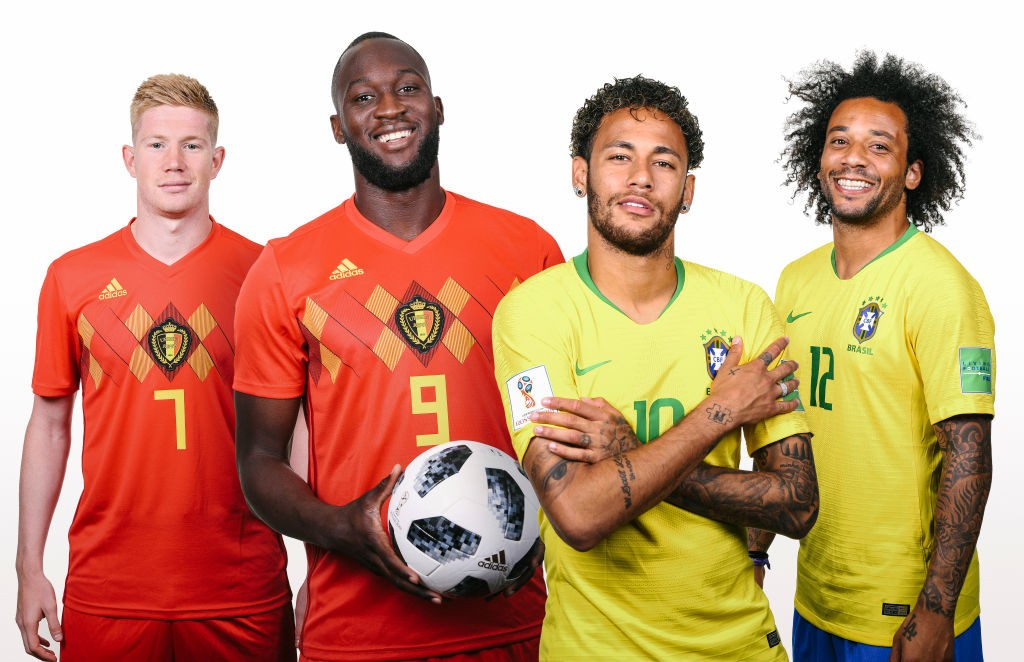 Belgium v Brazil World Cup football