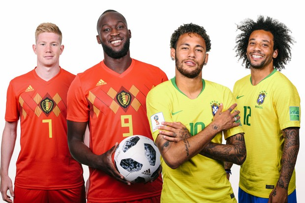 Belgium v Brazil World Cup football
