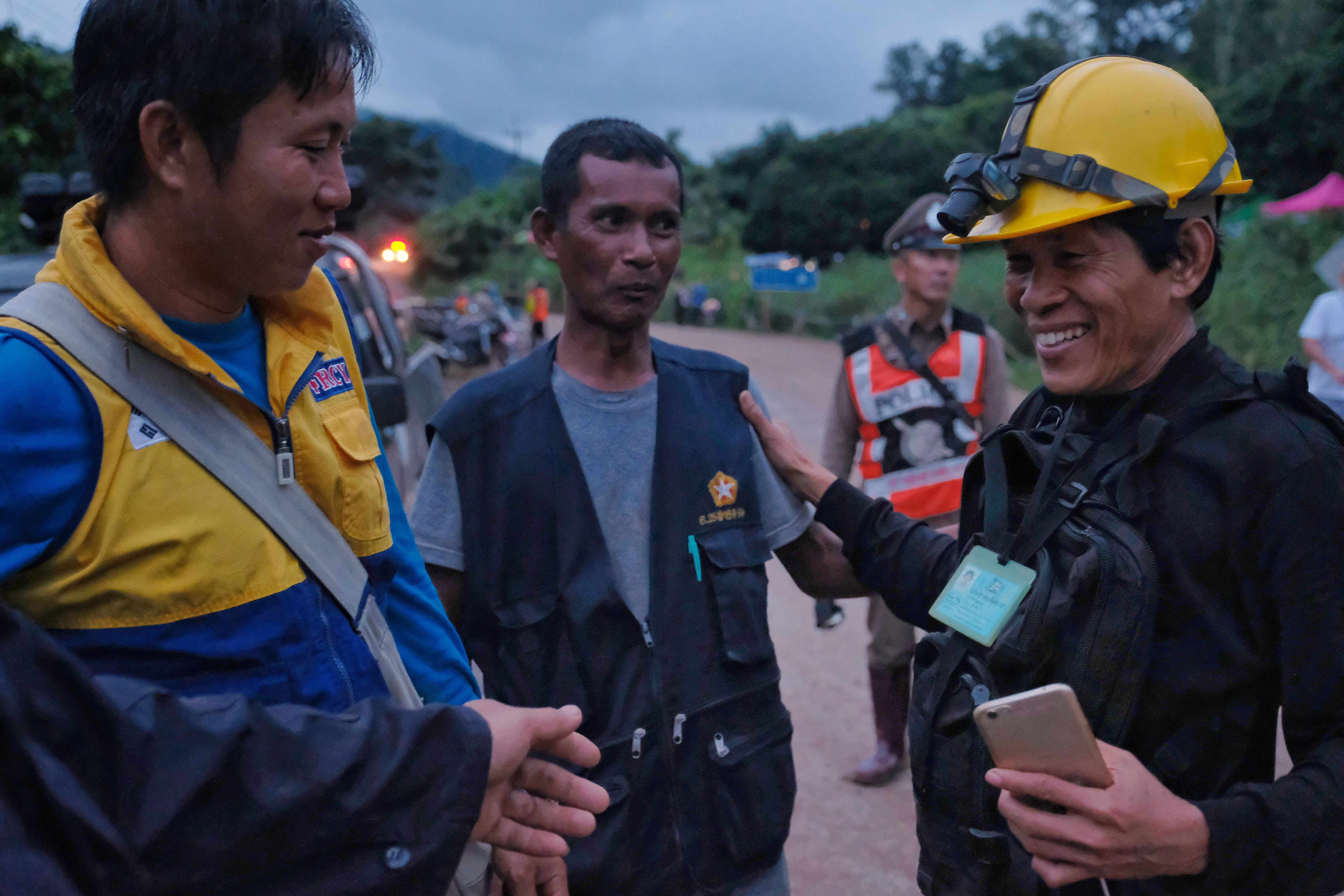 Thailand Cave Rescue For Trapped Soccer Team (Getty, EH)