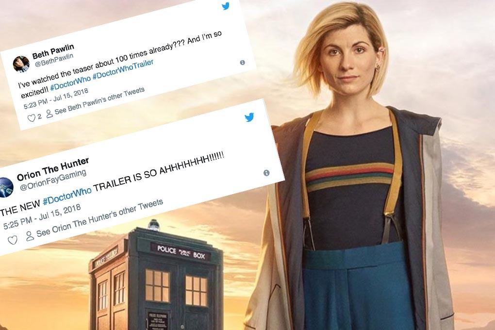 Doctor Who star Jodie Whittaker (BBC, HF)