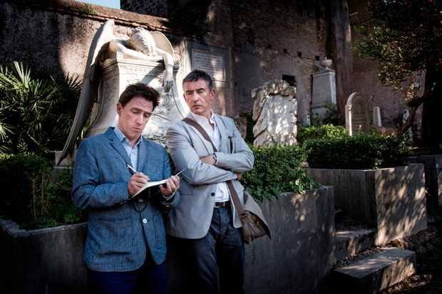 Programme Name: The Trip - TX: n/a - Episode: n/a (No. Episode 4) - Picture Shows: (L-R) Rob Brydon, Steve Coogan - (C) Revolution Films - Photographer: Ciro Meggiolaro