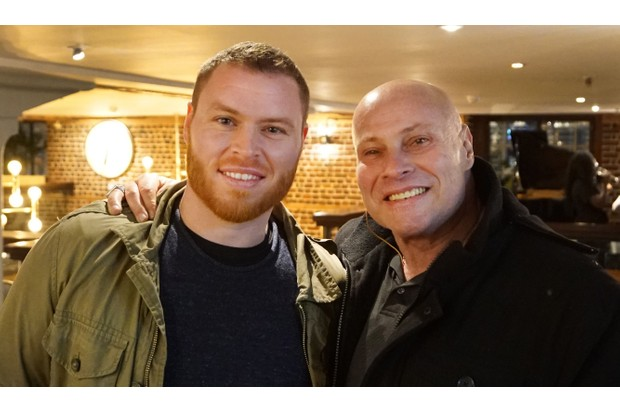 From Wall To Wall Productions LONG LOST FAMILY: Tuesday 17th July 2018 on ITV Pictured: (l-r) Searcher, Pearse Egan reunited with his birth Father Eddie Santos © ITV Photographer Tony Ward For further information please contact Peter Gray 0207 157 3046 peter.gray@itv.com This photograph is © ITV and can only be reproduced for editorial purposes directly in connection with the programme LONG LOST FAMILY: or ITV. Once made available by the ITV Picture Desk, this photograph can be reproduced once only up until the Transmission date and no reproduction fee will be charged. Any subsequent usage may incur a fee. This photograph must not be syndicated to any other publication or website, or permanently archived, without the express written permission of ITV Picture Desk. Full Terms and conditions are available on the website www.itvpictures.com