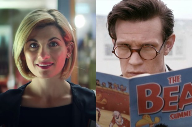 Jodie Whittaker and Matt Smith's Doctors (BBC, HF)