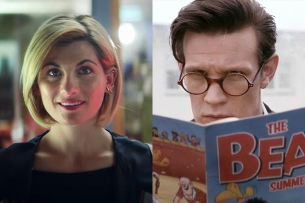 Jodie Whittaker and Matt Smith's Doctors (BBC, HF)