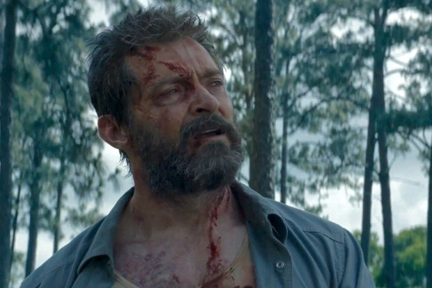Hugh Jackman as Wolverine/Logan in Logan (20th Century Fox, HF)