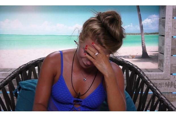 Dani Dyer on Love Island