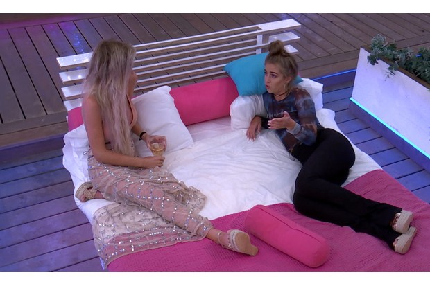 Love Island Friday 6 July - Georgia and Laura