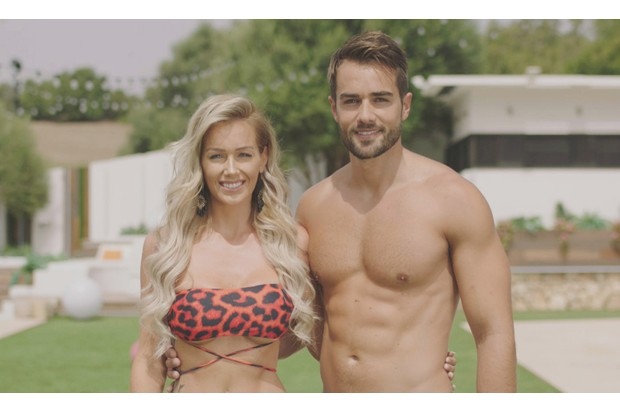 Laura Anderson and Paul Knops - Love Island