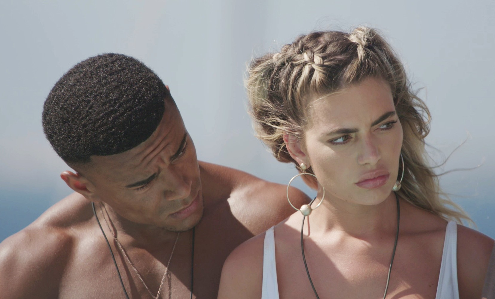 Megan and Wes on Love Island