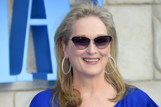 Meryl Streep at the premiere of Mamma Mia