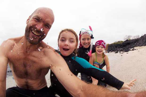My Family and The Galapagos: Monty Halls