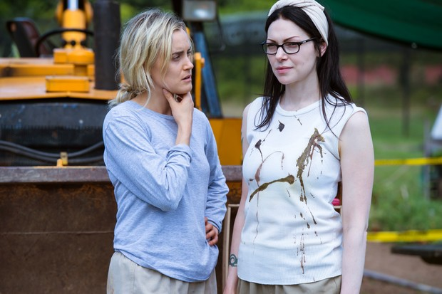 Taylor Schilling as Piper and Laura Prepon as Alex