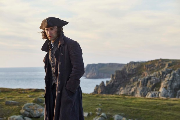 WARNING: Embargoed for publication until 00:00:01 on 24/07/2018 - Programme Name: Poldark - Series 4 - TX: n/a - Episode: Poldark S4 - EP8 (No. 8) - Picture Shows: ***EMBARGOED TILL 24TH JULY 2018*** Ross Poldark (AIDAN TURNER) - (C) Mammoth Screen - Photographer: Mike Hogan