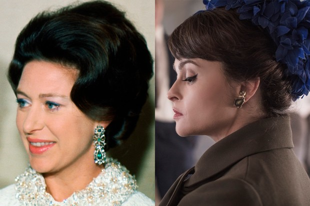 The Crown: Princess Margaret and Helena Bonham Carter