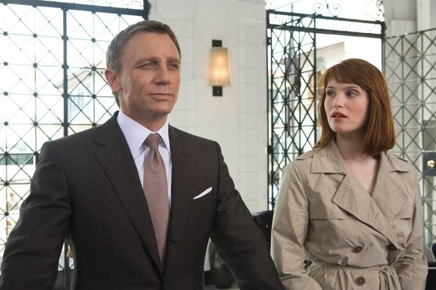 Arterton in Quantum of Solace in James Bond