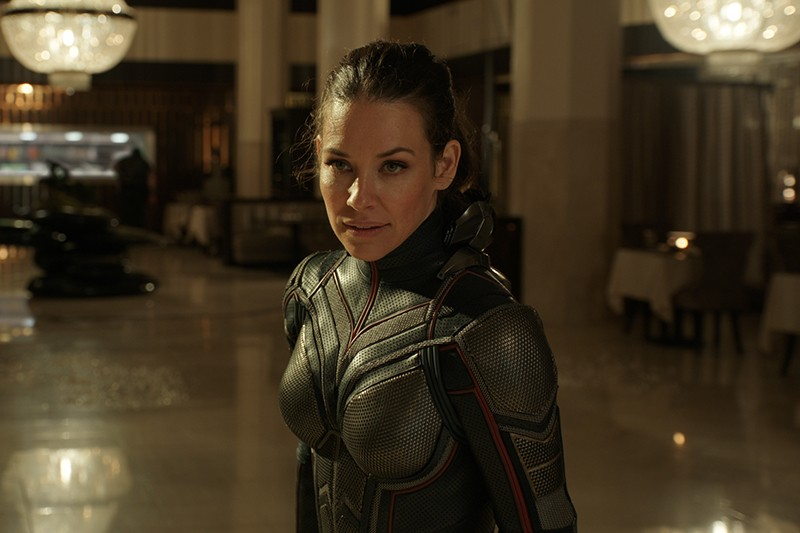 Evangeline Lilly as The Wasp/Hope van Dyne in Ant-Man and the Wasp (Marvel, HF)