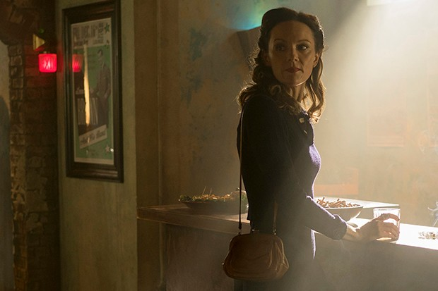 Rachael Stirling plays Millie Harcourt in The Bletchley Circle