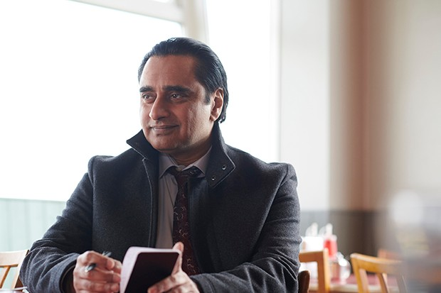 Sanjeev Bhaskar plays DI Sunny Khan in Unforgotten