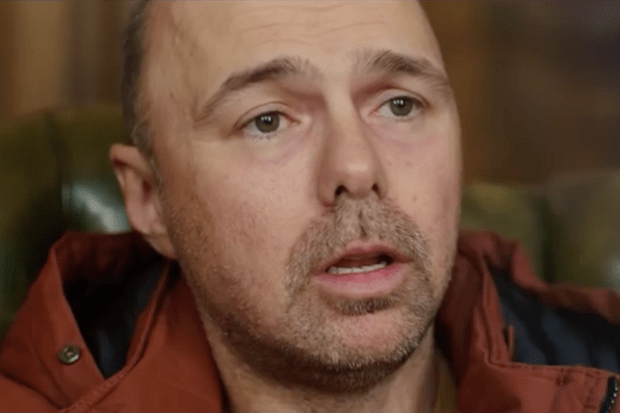 Karl Pilkington in Sky1 comedy Sick of It