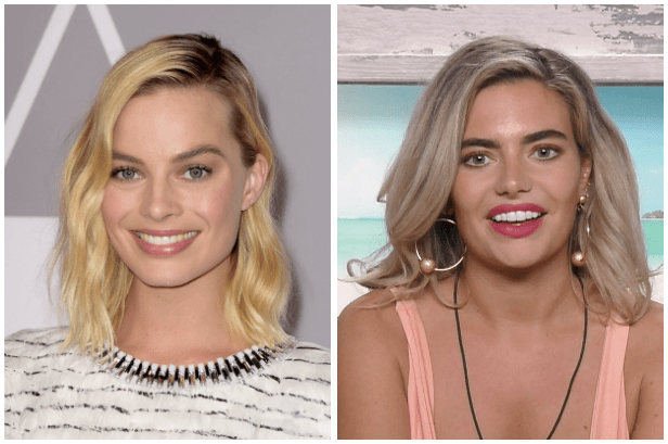 Margot Robbie, Megan Barton Hanson (Getty, ITV, EH)