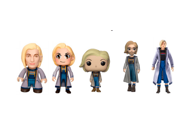 Jodie Whittaker Doctor Who figurines (BBC, HF)