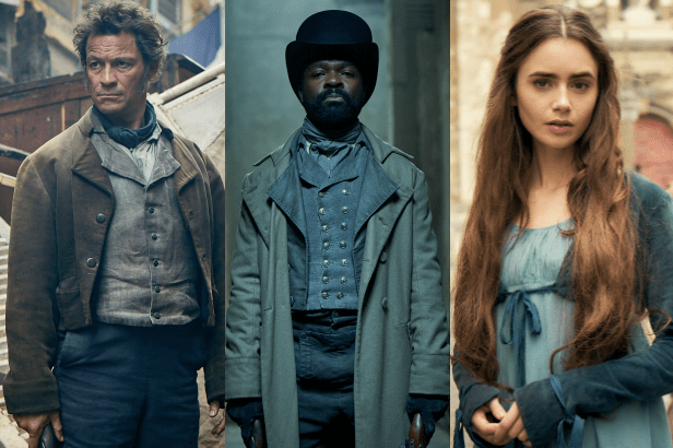 Les Miserables first look (BBC, EH)