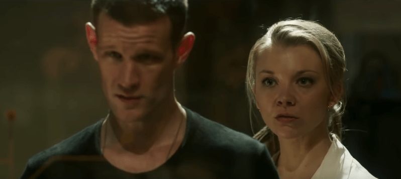 Matt Smith and Natalie Dormer in Patient Zero