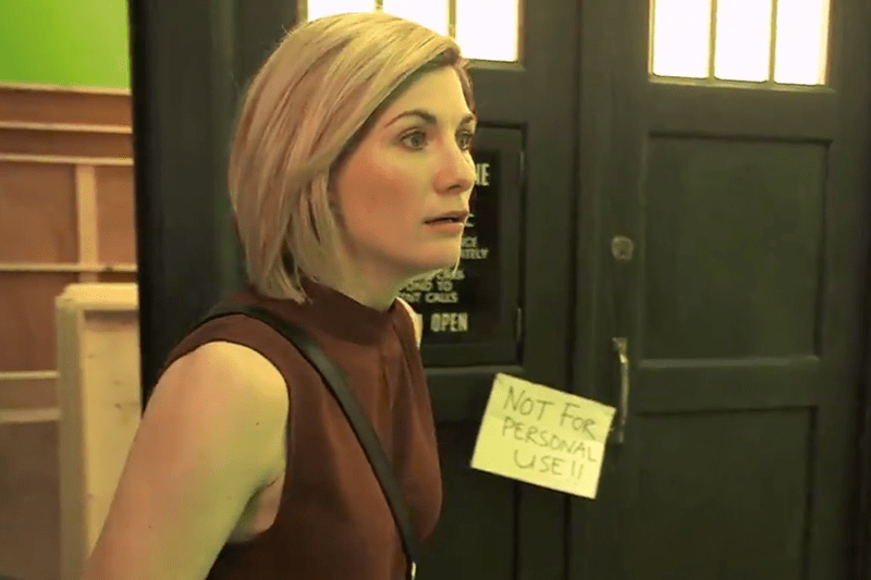 Doctor Who's Jodie Whittaker (BBC, HF)