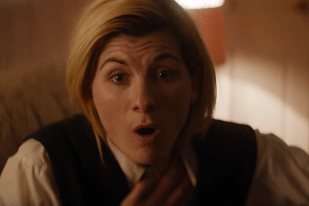 Jodie Whittaker in Doctor Who series 11 episode 1 (BBC, HF)