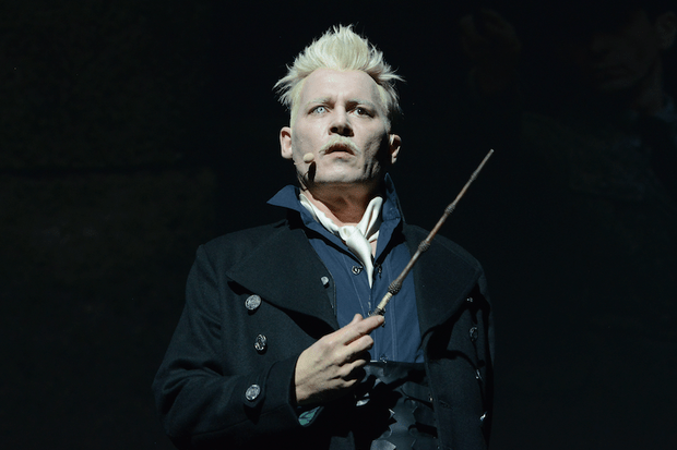 Johnny Depp as Grindelwald in Fantastic Beasts