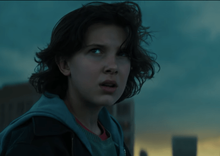 Millie Bobby Brown in Godzilla: King of the Monsters (Warner Bros, BA)