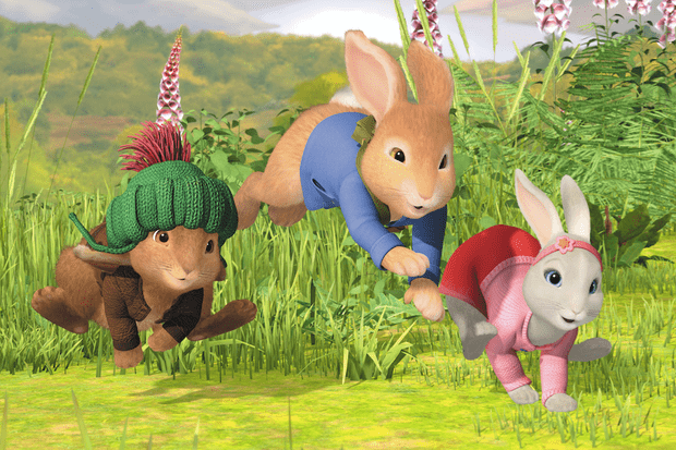 Peter Rabbit on CBeebies